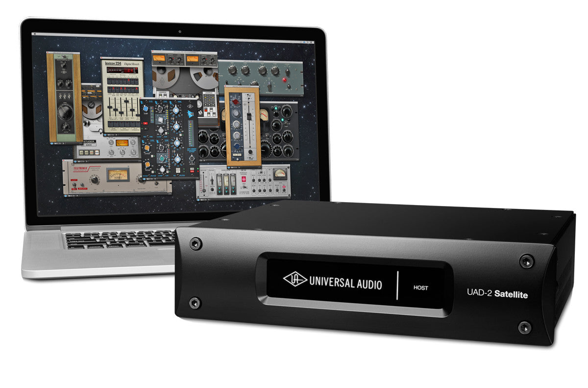 Universal Audio UAD-2 Satellite Thunderbolt QUAD Core - Sinamex Recording Store