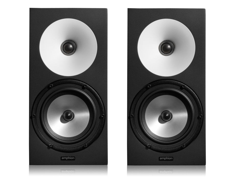Amphion One18 (pair) // Amp100 (w/speaker cables) - Sinamex Recording Store