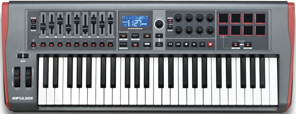 Novation Impulse 49 - Sinamex Recording Store