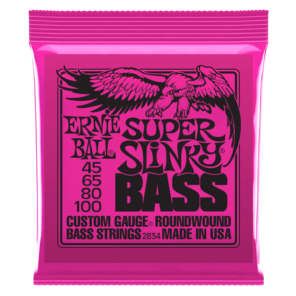 Ernie Ball Super Slinky Bass - Sinamex Recording Store