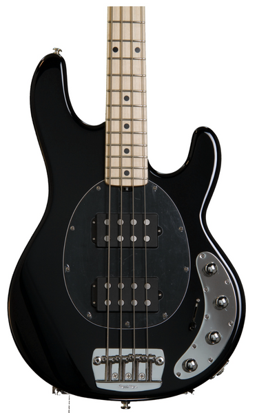 Ernie Ball Music Man StingRay HH 4-String Black - Sinamex Recording Store