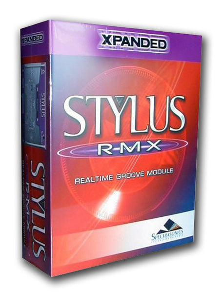 Spectrasonics Stylus RMX Expanded (boxed) - Sinamex Recording Store