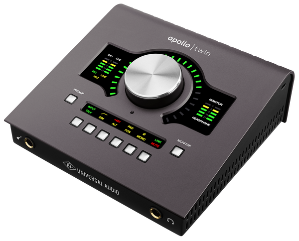 Universal Audio Apollo Twin MkII Quad (Thunderbolt) - Sinamex Recording Store
