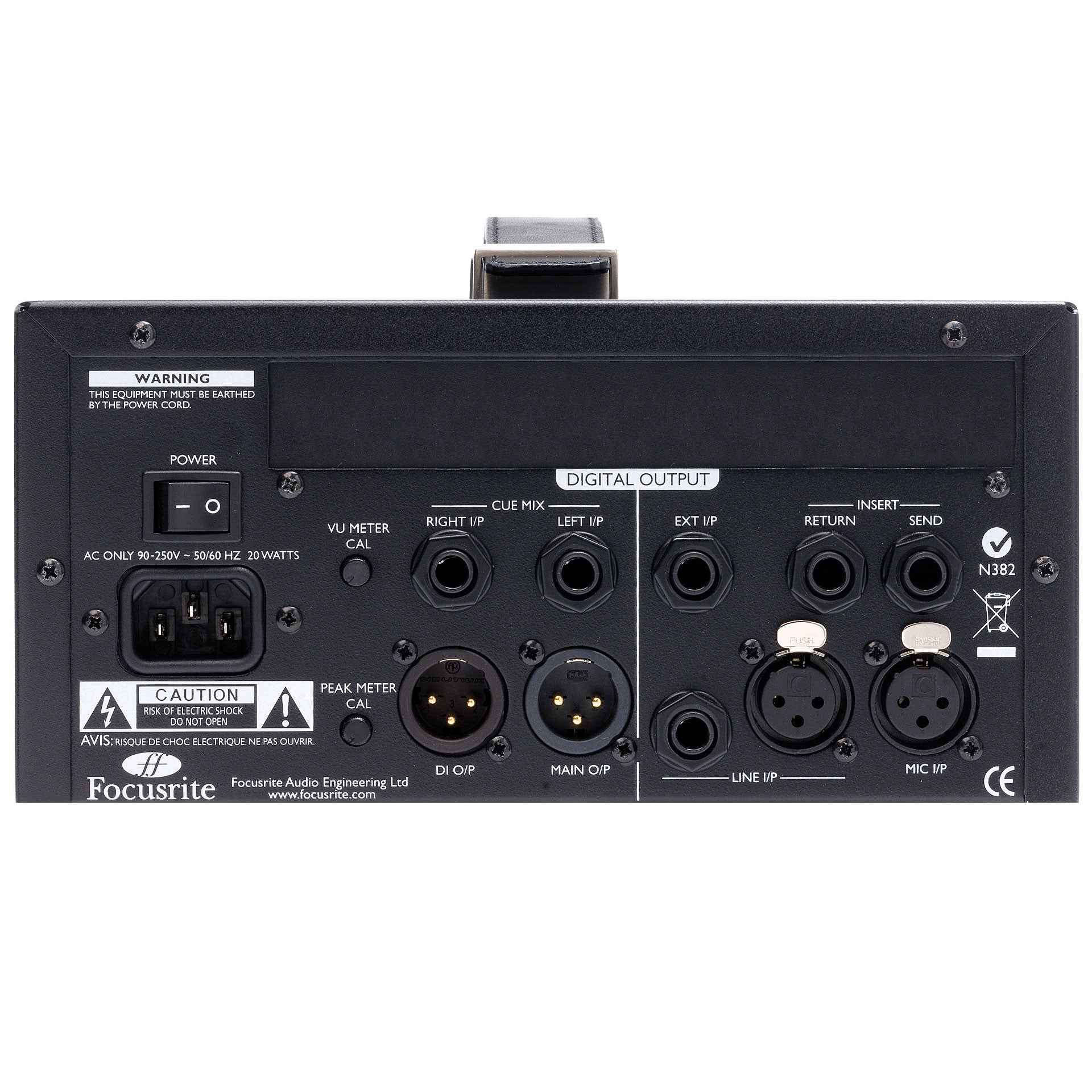 Focusrite ISA One Classic Microphone Pre-amplifier with Independent DI - Sinamex Recording Store