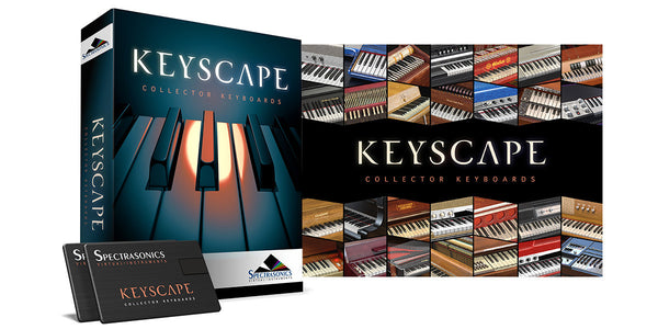 Spectrasonics Keyscape - Collector Keyboards (boxed) - Sinamex Recording Store
