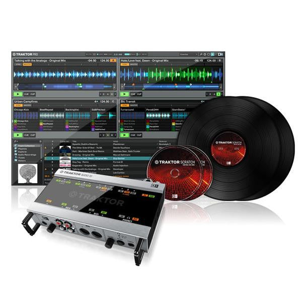 Native Instruments Traktor Scratch A10 - Sinamex Recording Store