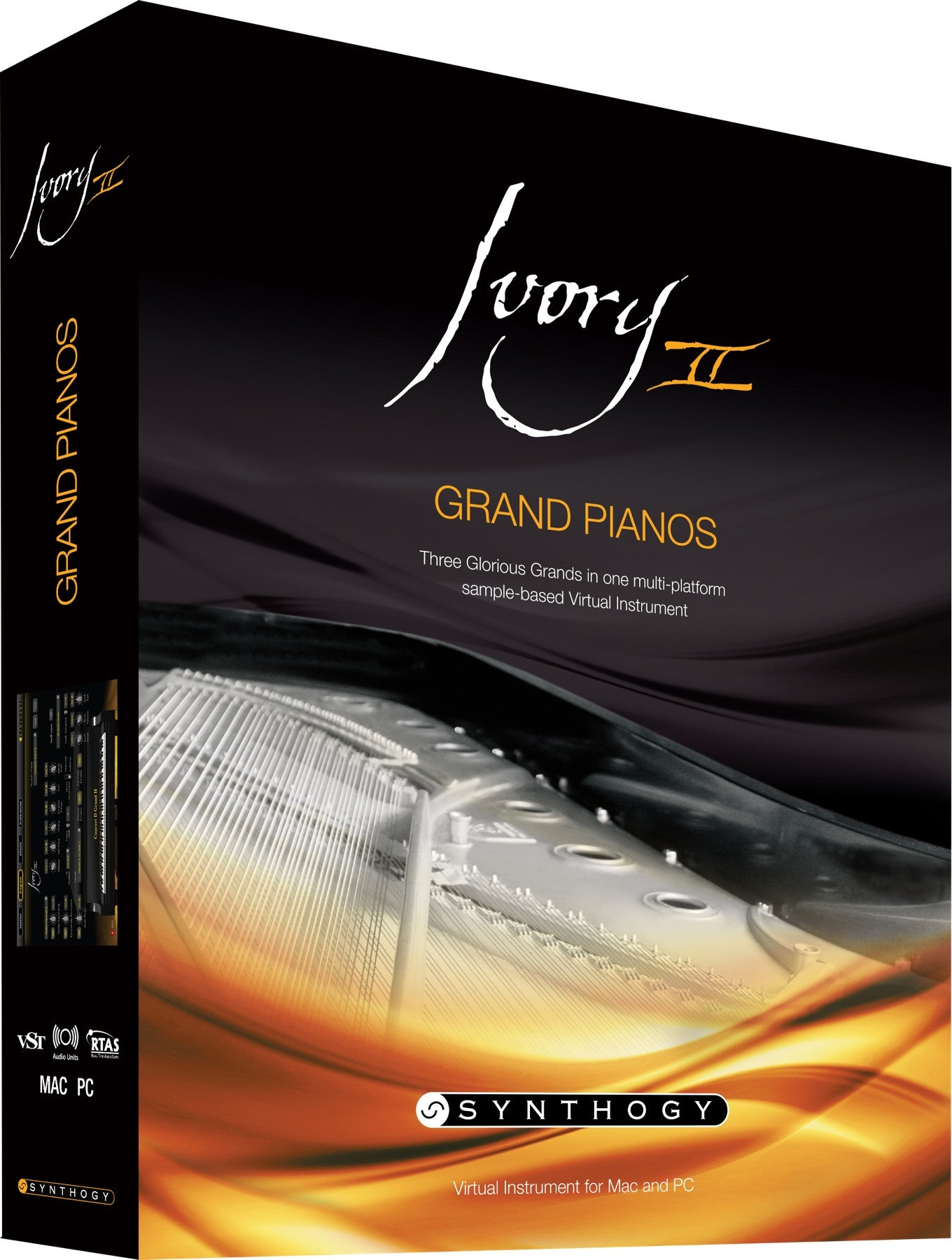 Synthogy Ivory II Grand Pianos (boxed) - Sinamex Recording Store