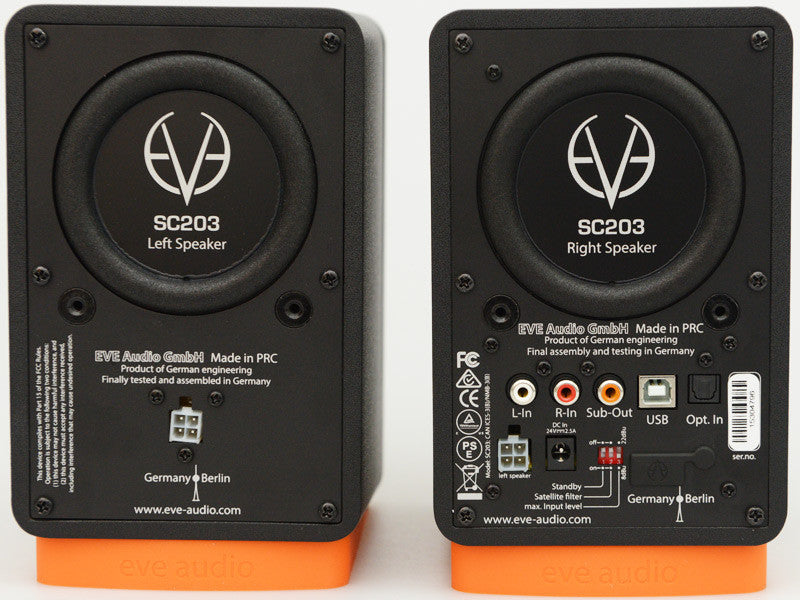 Eve Audio SC203 (pair) - Sinamex Recording Store