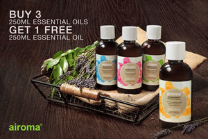 3 Airoma Essential Oils 250Ml (Free 1 Oil Worth Php 300)