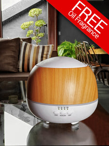 Kinzi Humidifier (With Free 1 Essential Oil 100Ml)