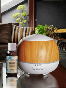 Kinzi Humidifier (With Free 1 Essential Oil 100Ml) Fresh - Lemon