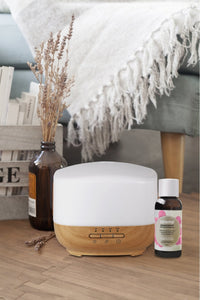 Yazi Humidifier (With Free 1 Essential Oil 100Ml) Spa - Citronella Air Purifier + Bundle