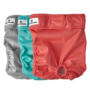 Washable Dog Diapers (3pack) of Premium Male & Female Dog Diapers