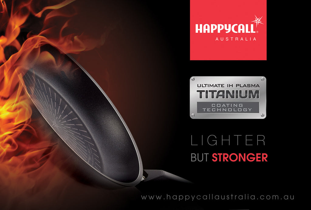 Happycall - Lighter. Stronger. Titanium