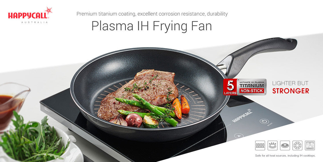 Plasma IH Frying Pan / Wok