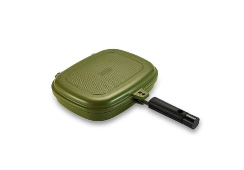 Happycall Double Pan 2.0 (Detachable) Jumbo Grill - Olive | PRE-ORDER