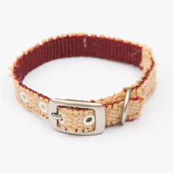Natural Burlap Collar