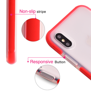Red Circus Frosted Bumper Case