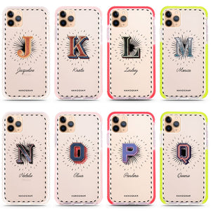 Artistic Monogram III Frosted Bumper Case