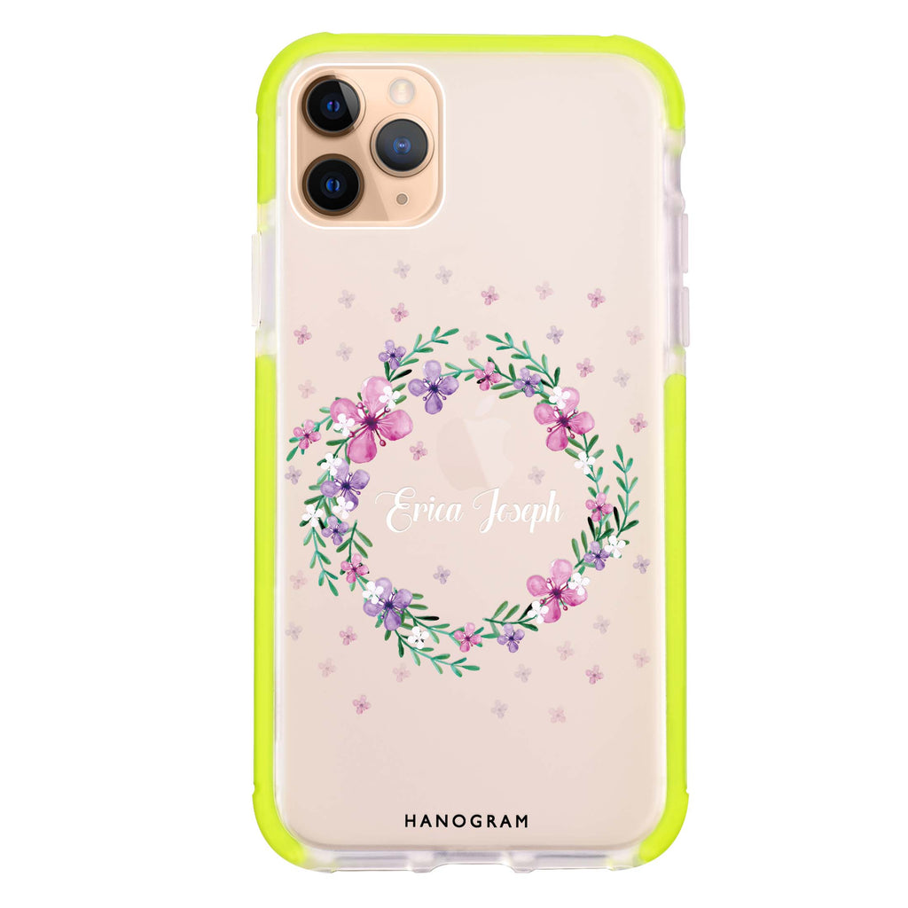 Floral Ring II iPhone 11 Pro Max Shockproof Bumper Case