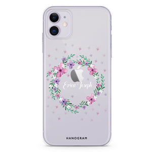 Floral Circle - Custom iPhone X Nova Case