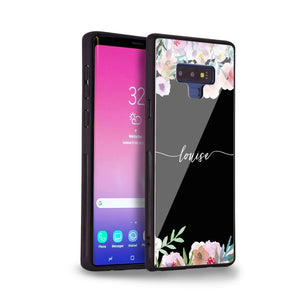 Art of Floral Samsung Note 9 Glass Case