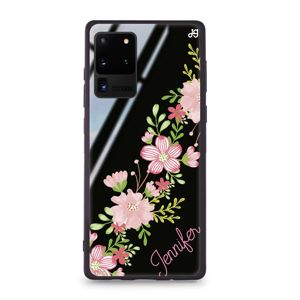 Floral Path Samsung S20 Ultra Glass Case