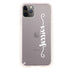 Casual Vertical Name Frosted Bumper Case