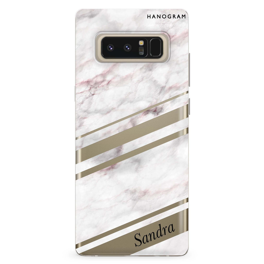Marble Z Samsung Note 8 Soft Clear Case