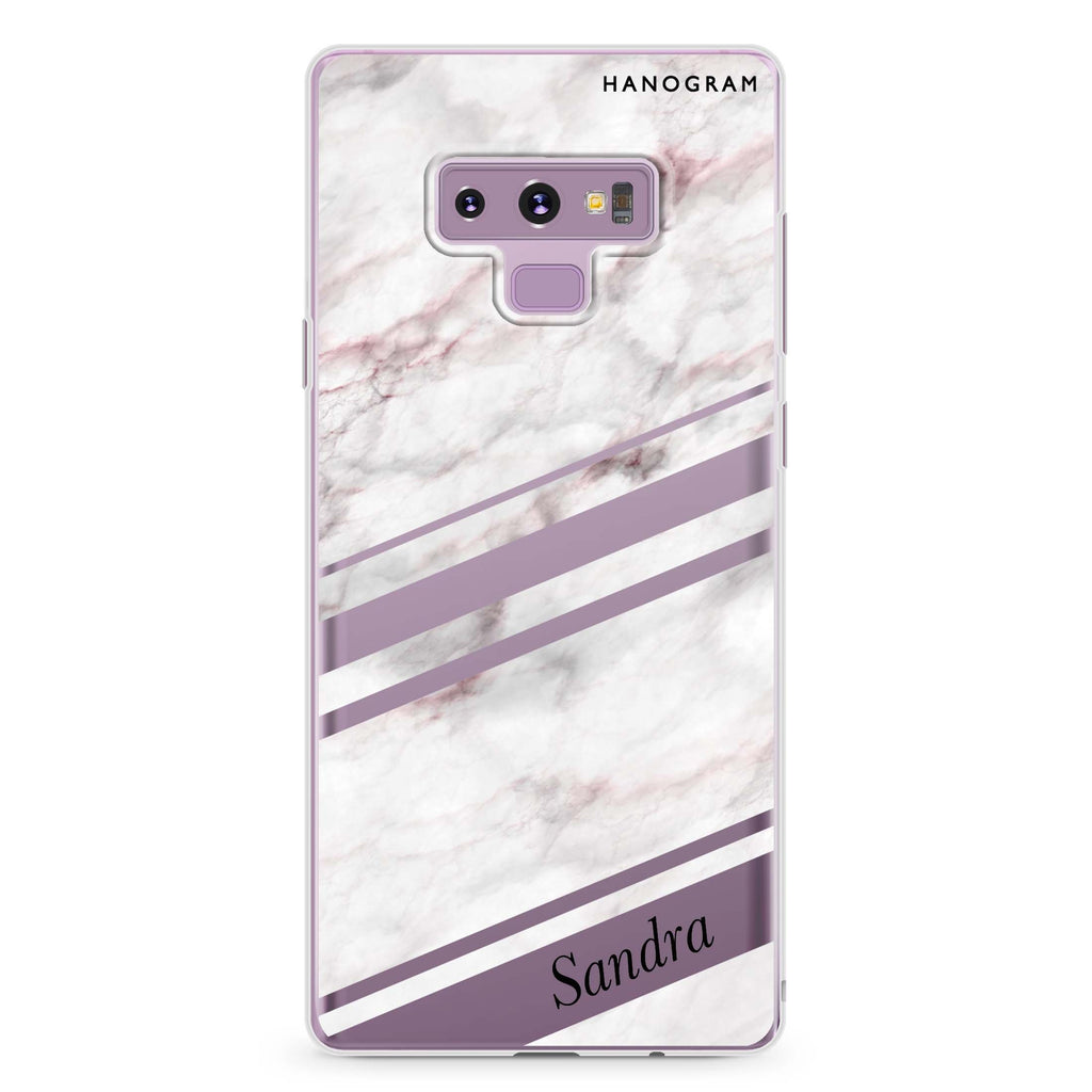 Marble Z Samsung Note 9 Soft Clear Case