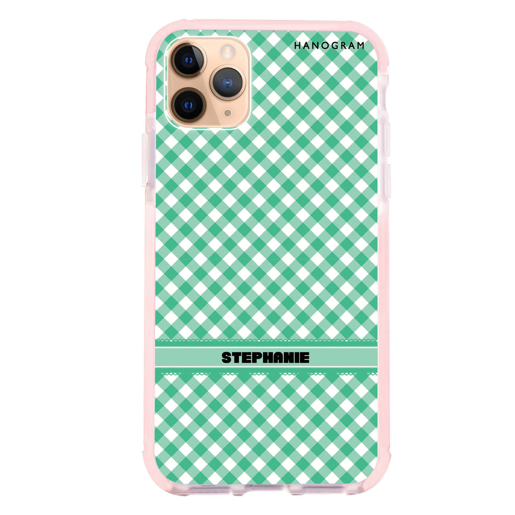 Lovely Green iPhone 11 Pro Max Shockproof Bumper Case