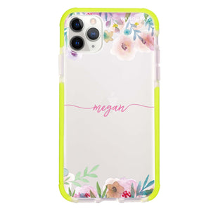 Art of Floral Shockproof Bumper Case