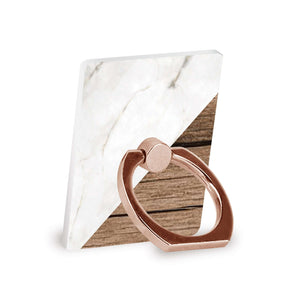 Marble & Wood - Ring Stent