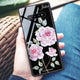 Simple Floral Samsung S10 Plus Glass Case