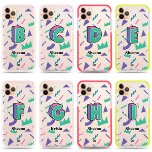 Inspired Monogram Frosted Bumper Case