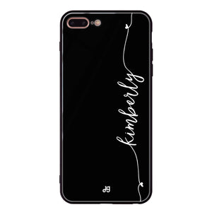 Heart Word iPhone 8 Plus Glass Case