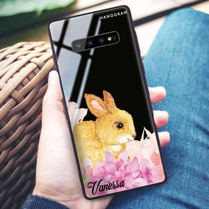 Bunny & Me Samsung S10 Plus Glass Case