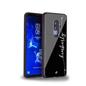Heart Word Samsung S9 Plus Glass Case