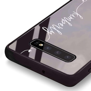 Heart Word Samsung S10 Plus Glass Case