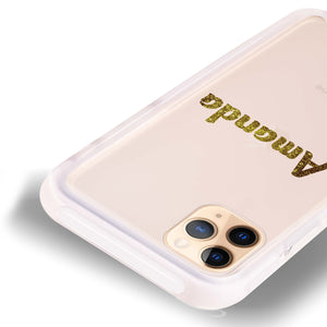 Glittering Gold Frosted Bumper Case