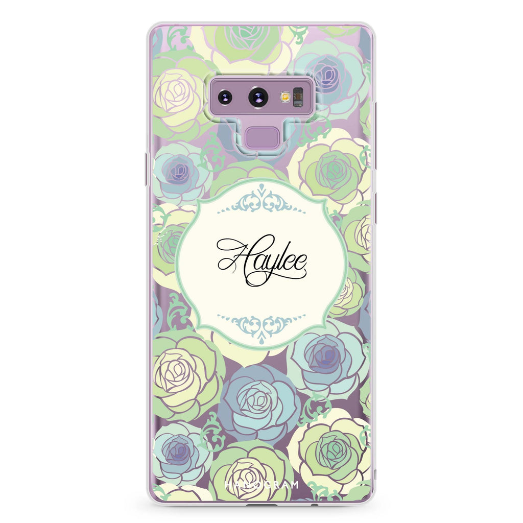Art of Rose I Samsung Note 9 Soft Clear Case