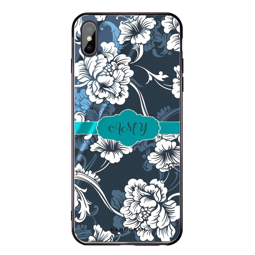 Ceramic Art iPhone XS Max Glass Case