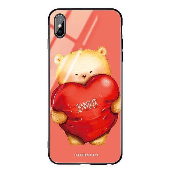 Bear Hug Living Coral Glass Case