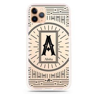 Artistic Monogram II Frosted Bumper Case