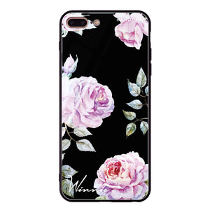 Classic Floral iPhone 8 Plus Glass Case