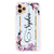 Frame With Flowers iPhone 11 Pro Max Shockproof Bumper Case