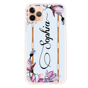 Frame With Flowers Shockproof Bumper Case