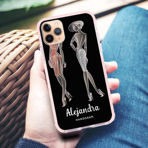 Elegant Girls iPhone 11 Pro Max Frosted Bumper Case