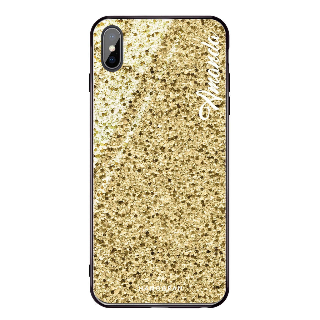 Golden Moment iPhone XS Max Glass Case