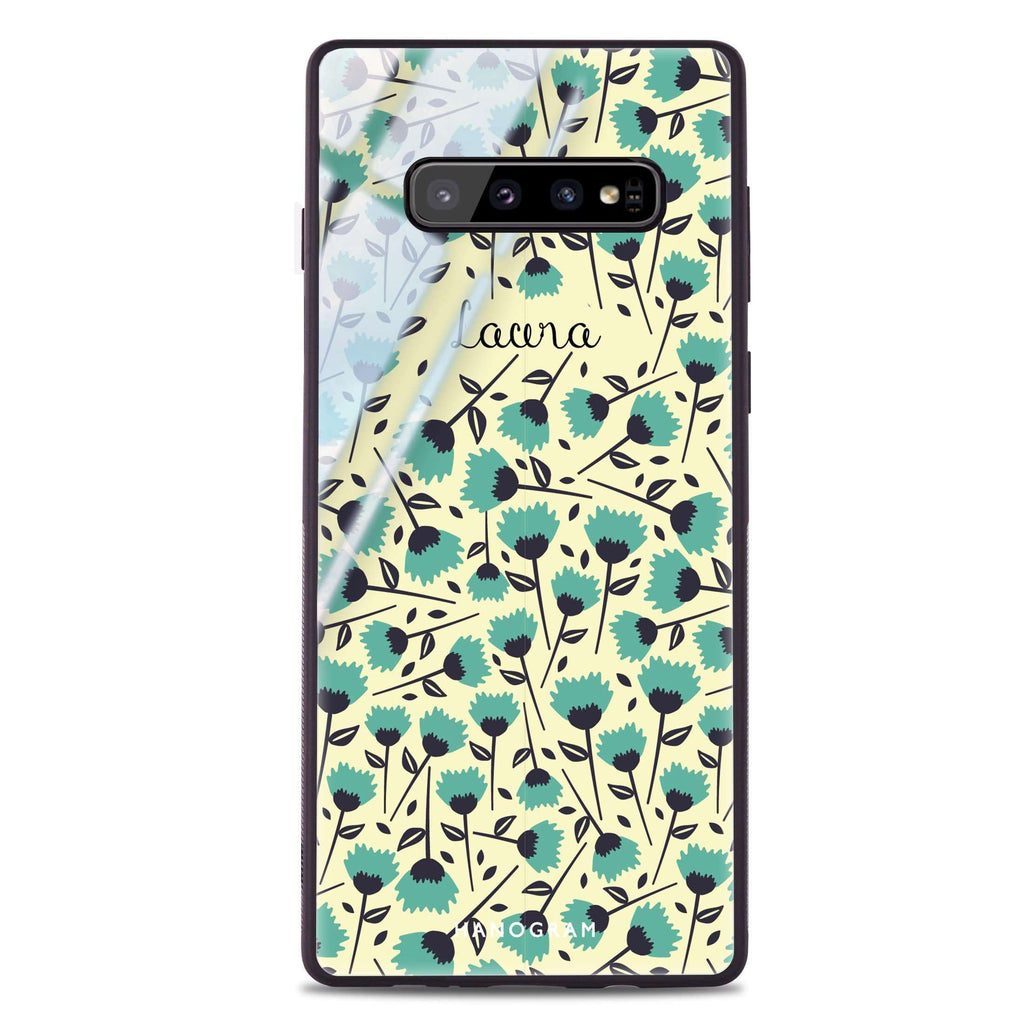Spring Samsung S10 Plus Glass Case